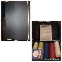 Nice Cardinal's Texas Holdem Poker Set in a Zipped Fabric Case   $5 Used 1 time  Case Clean   Walgreens Oakland Canada rd wolfchase Kirby whitten and stage  once a week -cp Oakland, 38060