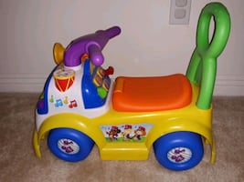 Fisher price colorful music parade.