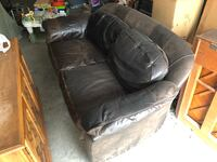 Genuine Leather Loveseat La Grange, 78945