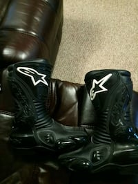 motorcycle racing boots Alpines