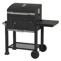 "Heavy Duty 24""Charcoal Grill (New in Box) W/ Charcoal Great Meadows"