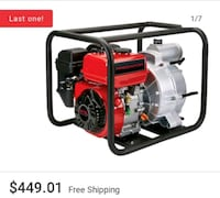 Predator water pump 212cc