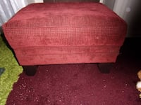 Selling FABRIC OTTOMAN Furniture a Relaxing Foot Rest or Sofa Chaise - Furniture Sale. Fleetwood