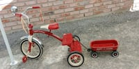 Radio Flyer Classic Tricycle with matching wagon North Las Vegas, 89032