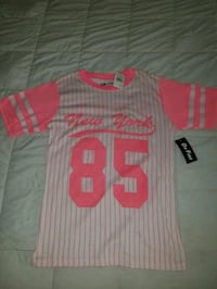 white and Pink jersey shirt Jacksonville, 32221
