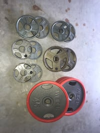 290 LB Olympic Plate Set Colchester, 06415