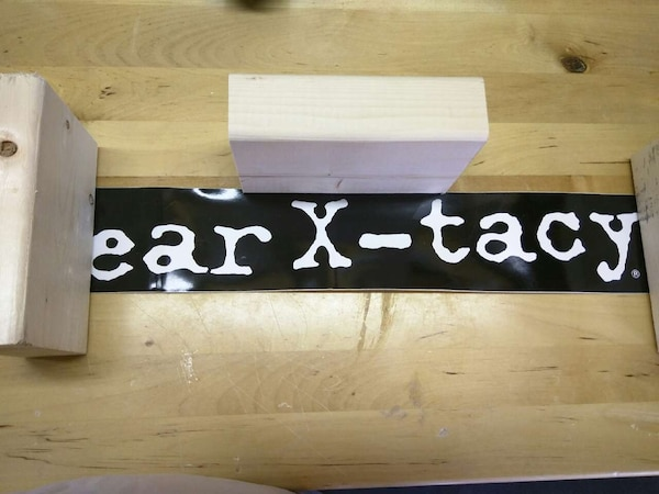 Ear x tacy bumper stickers never applied