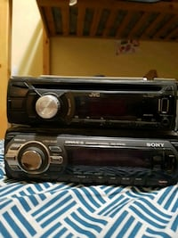 JVC and Sony    USB and aux  $30 for both   Calgary, T3J