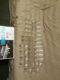 37pc glass set. No chips or cracks. Milford, 06460
