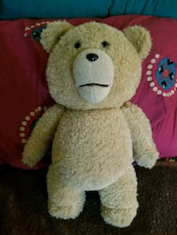 Talking Ted bear from the movie 41 km