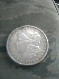 1878 Morgan Silver dollar  Rosamond, 93560