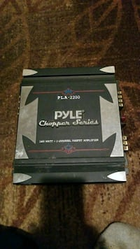 black and gray Pyle Chopper Series car amplifier Knoxville, 37920