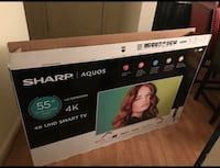 "Sharp 4K UHD 55"" TV Virginia Beach, 23453"