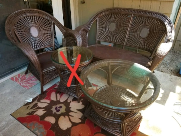 Pier 1 Azteca Outdoor Patio Furniture Set