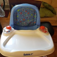 All-In-One Reclining Booster Seat