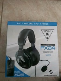 black Turtle Beach headset box 2209 mi