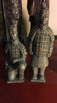 6 and 5 inch warriors