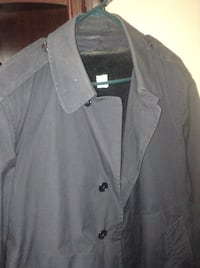 Navy issue trench coat