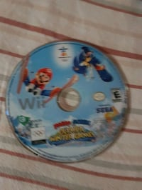 Wii game Mario and sonic winter games  Hamilton, L9A 2S3