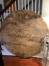 Free Granite table top, round and heavy