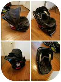 baby's black and red car seat carrier Lorton, 22079