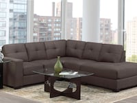Brand new sectional couch with warranty  Hamilton, L8W 3A1
