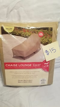 brown chaise lounge cover pack Bunnlevel, 28323