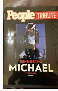 Hard covered tribute book