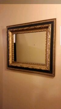 "Large Mirror With Solid Wood Frame 25""×29"" Barrie, L4M"