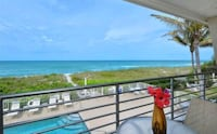 BEACH FRONT CONDO For Rent 1BR 1BA Lakeland