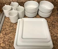 12 plate set with 4 coffee cups  San Diego, 92126