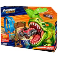 Adventure Force Double Loop Dino Chomp Crunch Racing Track Set T-rex Vaughan, L4J 8Y4