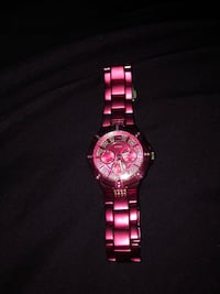 pink guess watch (brand new)