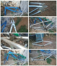 blue, gray, and green bike frame lot photo collage Oroville, 95966