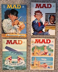 4 Vintage Mad Magazines from 1973 Baltimore, 21236