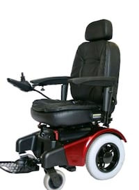 Must go!!!! Serious inquiries only!black and red motorized wheelchair  Capitol Heights, 20743