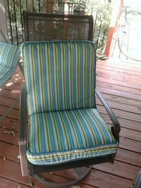 brand new outdoor cushions 1 chair and 1 for lounger