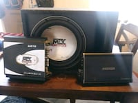black and gray Sony Xplod subwoofer Montgomery Village, 20886