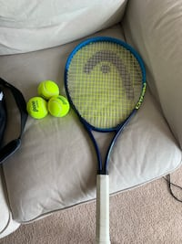 Head Racquet with bag and 3 balls Houston, 77071