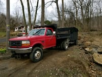 4x4 F350 dump truck 87,000 miles with plow Easton, 18042