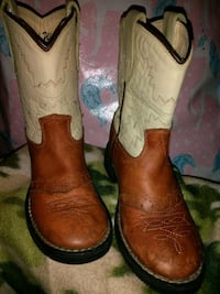 Kids Old West leather boots Newport News