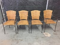 Rattan Chairs - Set of 4 Vallejo, 94592