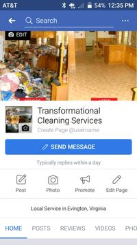 Transformational cleaning 155 mi