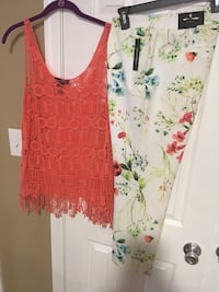 Pant size 10 , top large  brand new Harpers Ferry, 25425