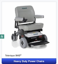 Two hoveround chairs