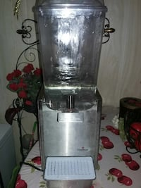 Crathco D15-3 stainless steel beverage dispenser