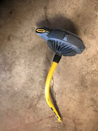 Leaf blower attachment.  Works well
