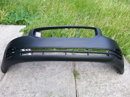 black car bumper Dodge caliber