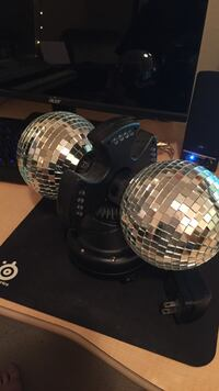 RGB double disco ball Jacksonville, 97530
