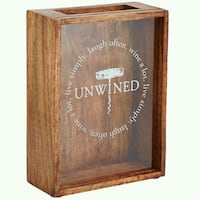 Shadow Box Wine Cork Holder - Brand New Ventura, 93003